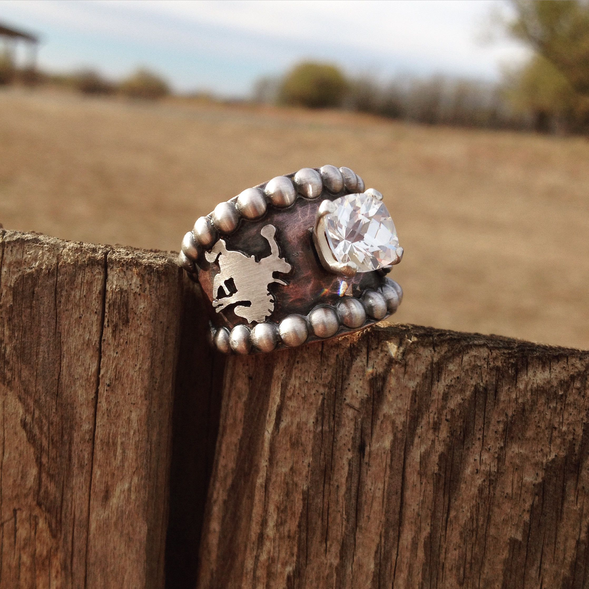 Custom Ring by Silo Silver   Silo Silver in 2019   Jewelry ...