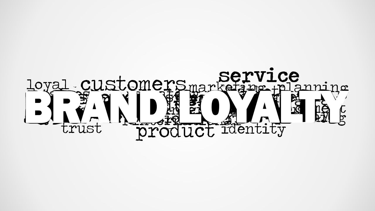 brand loyalty word cloud picture for powerpoint | word clouds and, Powerpoint templates