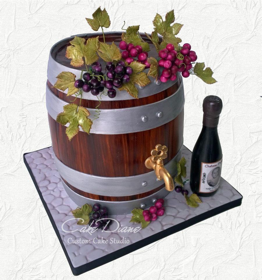 Cake Diane Custom Cake Studio | Bolos masculinos | Pinterest ...
