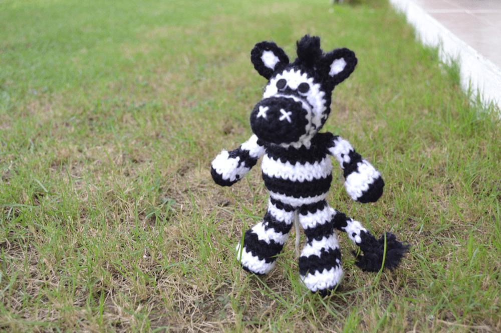 Zebra Pattern | Crochet zebra, Crochet animal patterns ...