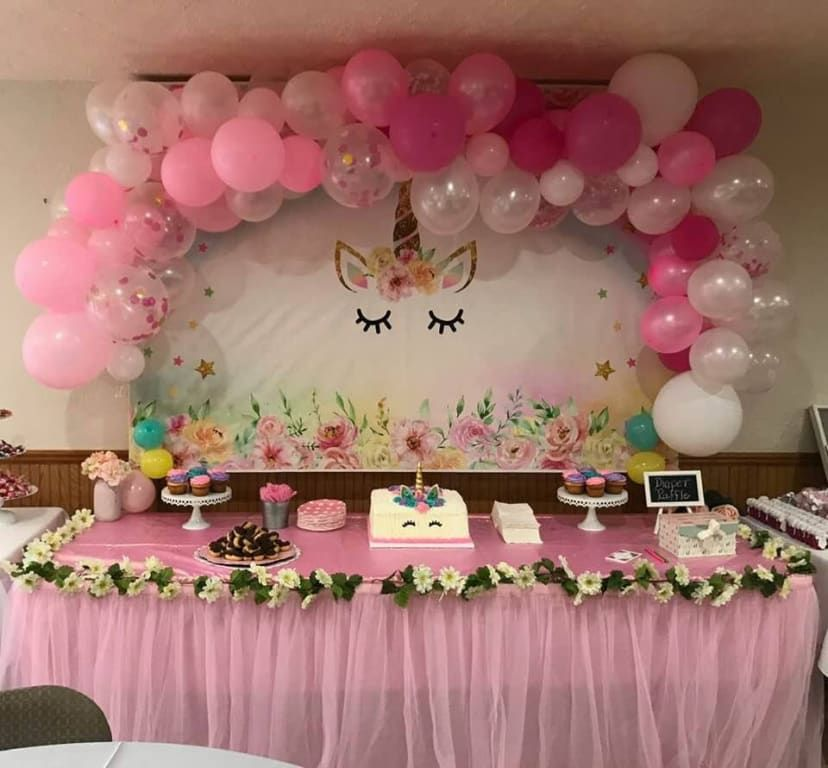 Airfilled ginger ray pink balloon arch kit 72pc pink