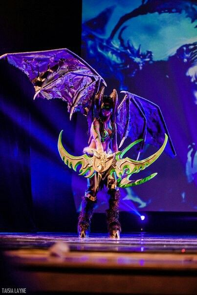 World of Warcraft Illidan cosplay by me