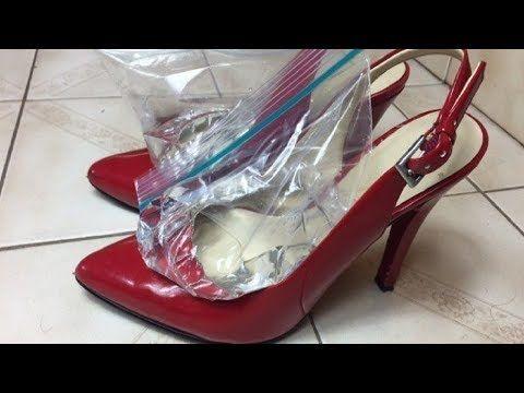 Ingenioso Truco Para Ampliar tus Zapatos Apretados. ¡Nunca Sentirás Más Dolor! - YouTube