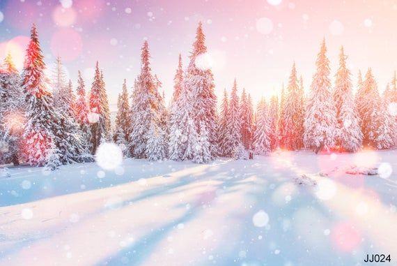 Winter Wonderland Teams Backgrounds