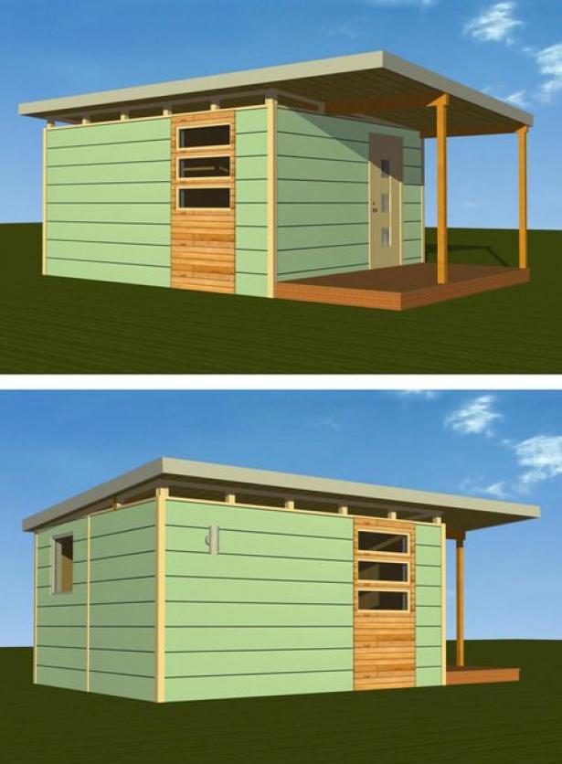 One day - Outdoor Studio/Office - 14x16 Modern Studio ...