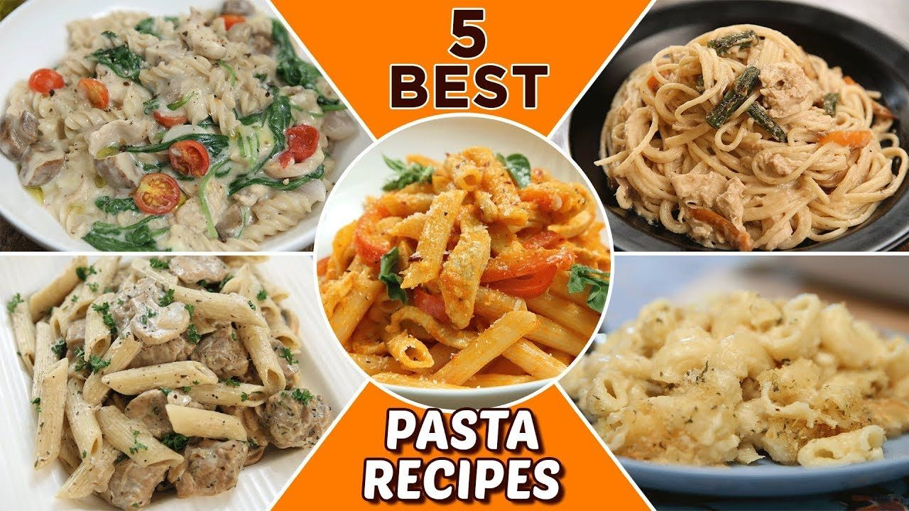 5 Best Pasta Recipes Delicious Pasta Recipes For Lunch Dinner