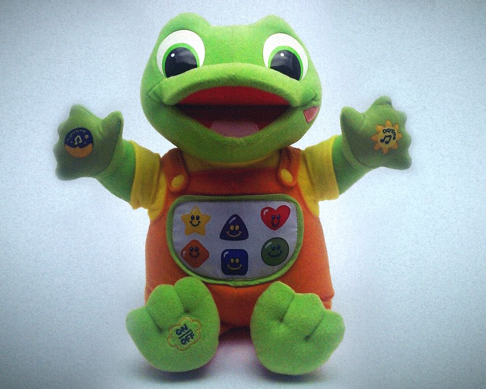 1999 LeapFrog Tad Leap frog, Learning toys, Reptiles