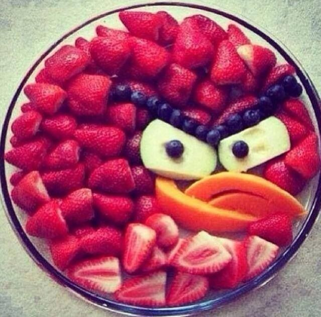 Fruit - Angry Birds Cute!