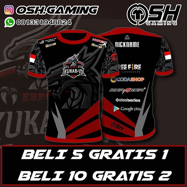 Download Custom Jersey Gaming Termurah Osh Gaming Foto Dan Video Instagram Kemeja Inspirasi