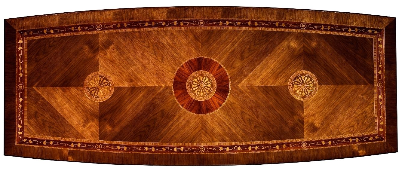 11 Luxury Dining Furniture. Exquisite Marquetry And Detail Work