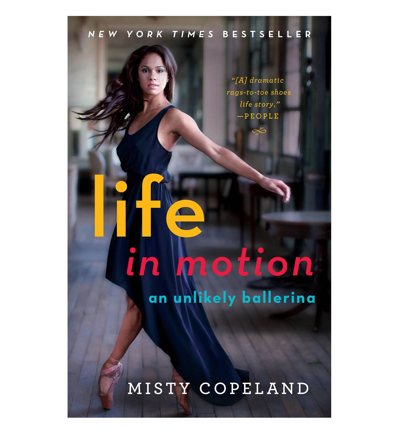 "Misty Copeland ""Life In Motion - An Unlikely Ballerina ..."