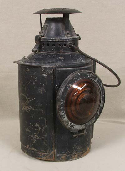 Old Railroad Lanterns 4095 Adlake Antique Railroad Lantern Old Lanterns Railroad Lanterns Vintage Lanterns