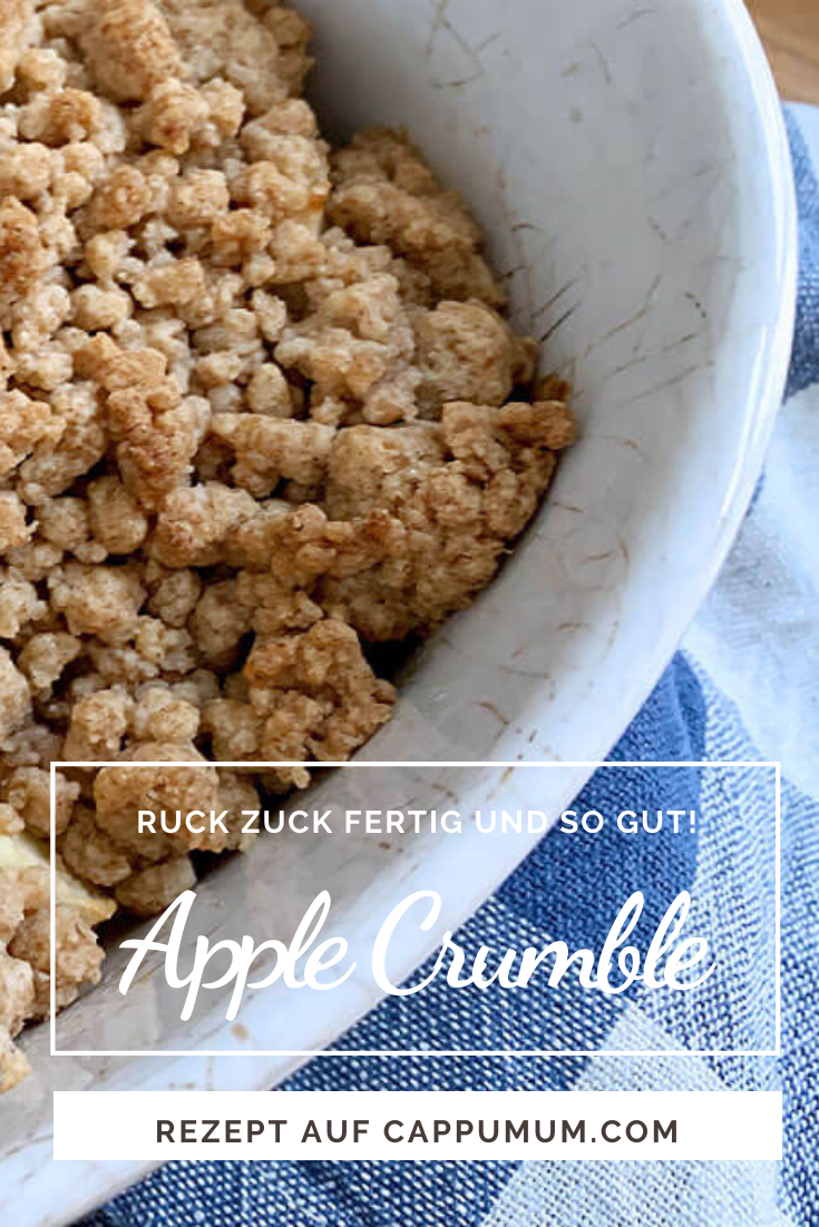 Apple Crumble Rezepte gesund und so gut!