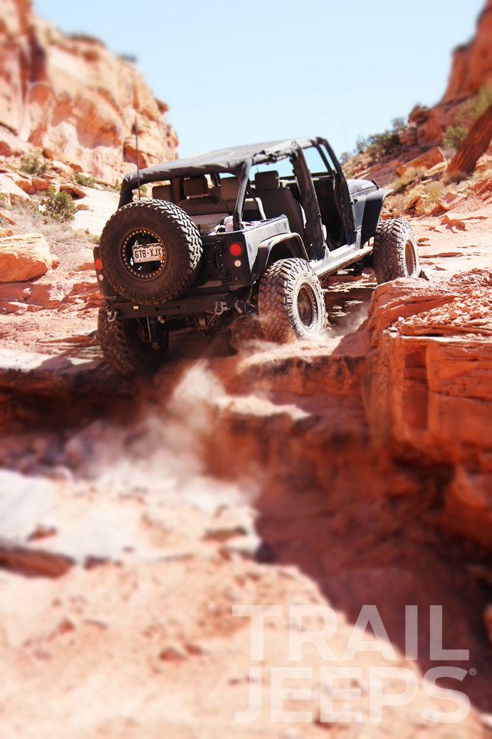 The Rock Pile Bypass Pritchett Canyon Ejs Moab Jeep Wrangler