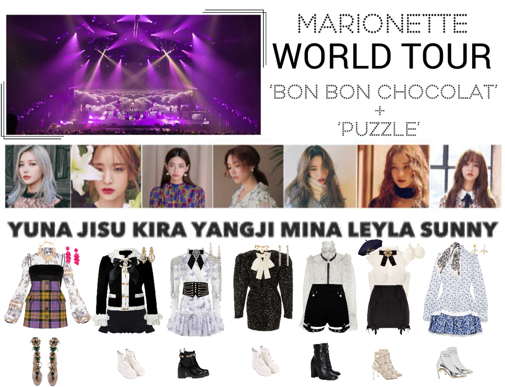 Marionette World Tour Seoul Concert Created By Marionette Official On Shoplook Io Perfect For Everyda Concert Outfit Kpop Fashion Outfits Kpop Outfits
