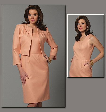 Evening dress patterns vogue 7681