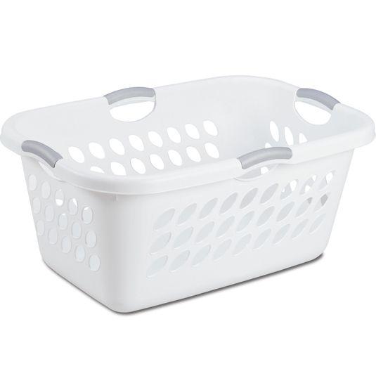 Sterilite Ultra White 64l Laundry Basket Laundry Basket Laundry Sorting Laundry Basket Dresser