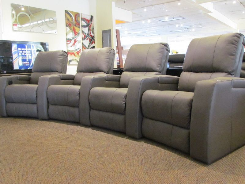 the playback motorized theater seating from palliser scan home