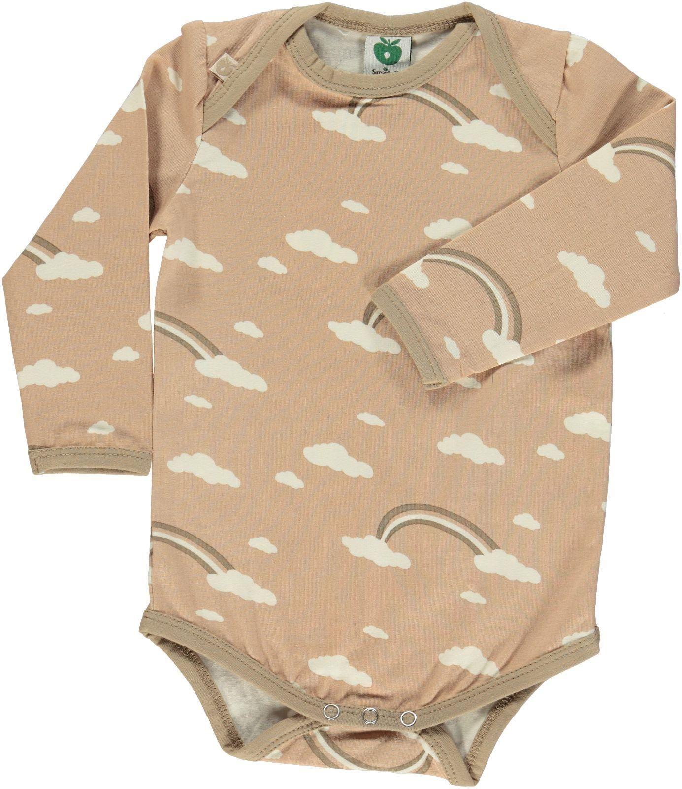 Smafolk l s bodysuit Rainbow Sand Retro Baby Clothes Baby Boy