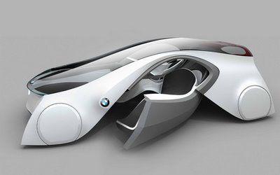 tecnología BMW este carro es virtual por eso puede volar...