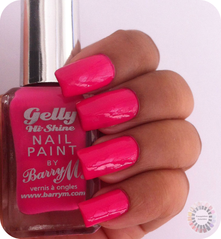 Nailpolis Museum of Nail Art | Barry M Pink Punch Swatch by Sandy ...