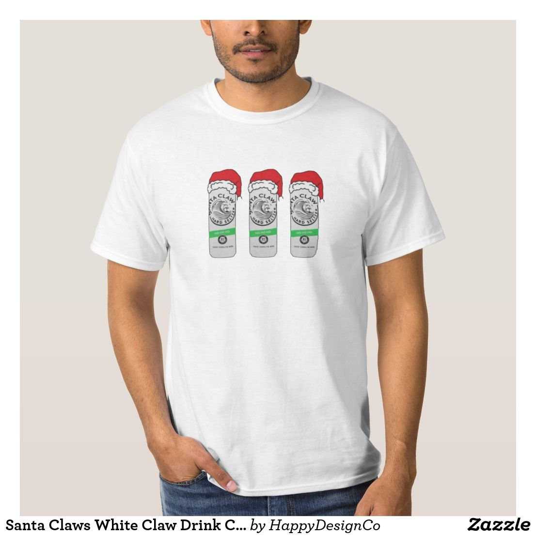 Santa Claws White Claw Drink Christmas Shirt Tacky Christmas Sweater Christmas Party Diy Holidays Gift Ideas Shirt Designs Christmas Shirts Shirts [ 1106 x 1106 Pixel ]