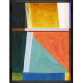 Tori Home An Abstract Painting By Clive Watts Framed Painting Print Framed Canvas Wall Art Abstract Painting Painting