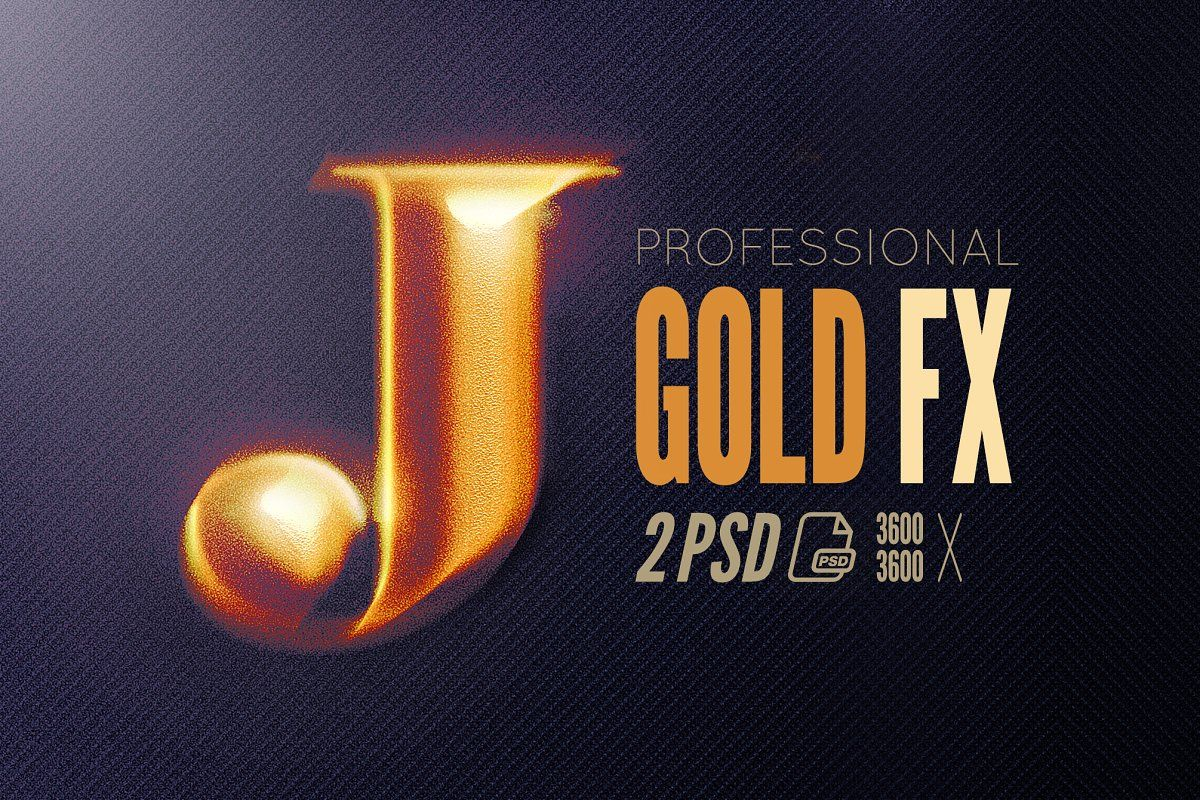 Hd Photoshop Gold Text Logo Fx Photoshop Template Design Adobe Photoshop Design Text Logo