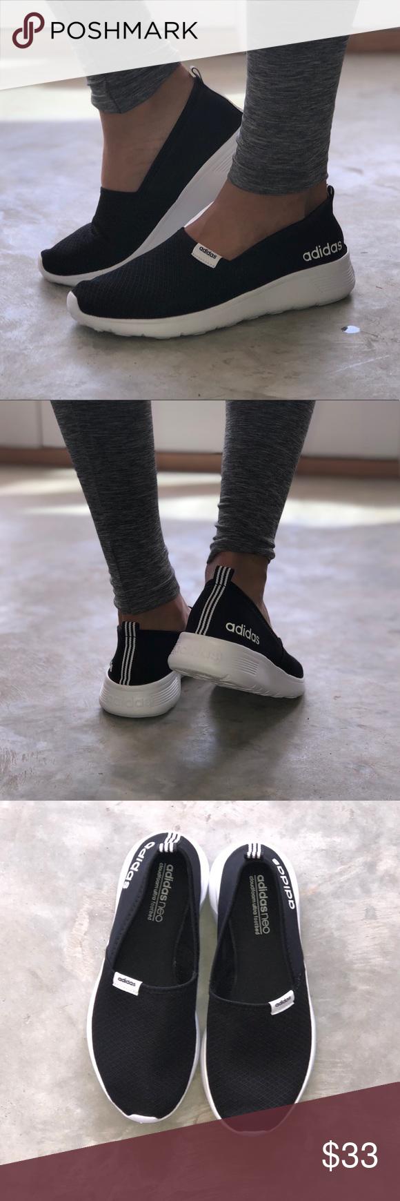 Adidas Neo Cloudfoam Lite Racer Slip-On