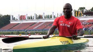 Kenyan canoeist beats polio and poverty - BBC Sport