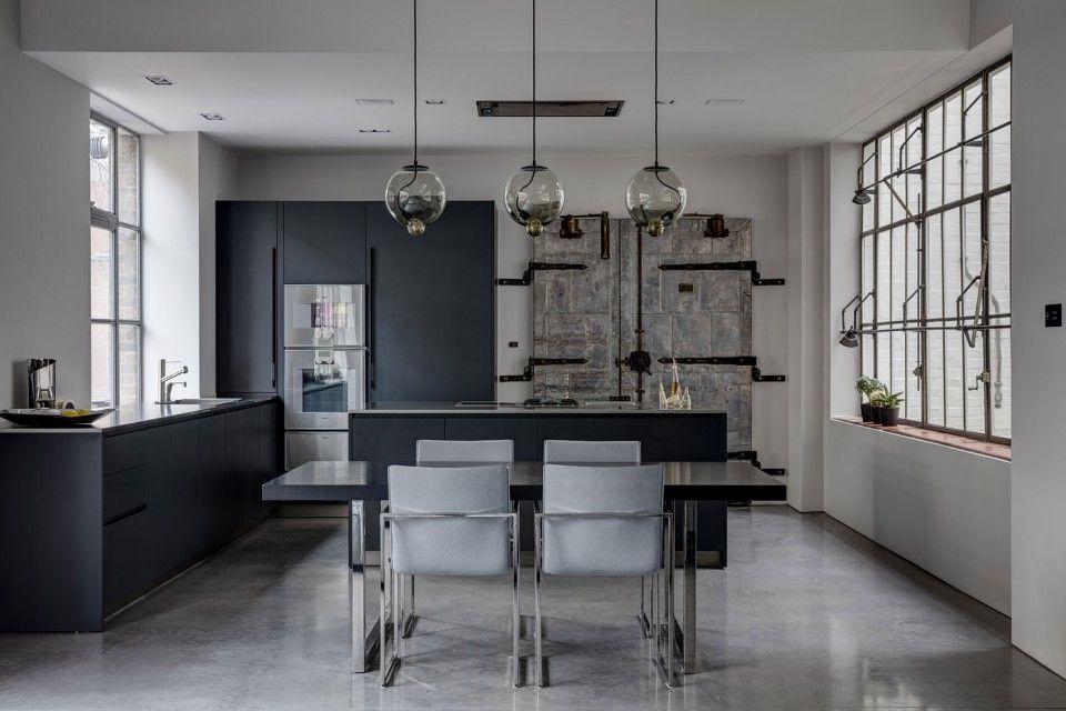 Strak clean minimalistisch interieur interieur