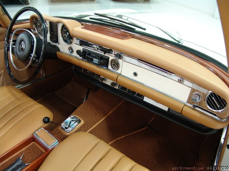 1970 Mercedes Benz 280sl Convertible Just In From Southern California Magnificent Restoration Fitted With Nearly Eve Mercedes Interior Mercedes Benz Mercedes