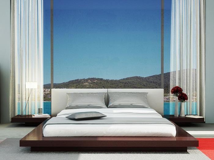Modern Floating Bed Frames Beds Pinterest Floating