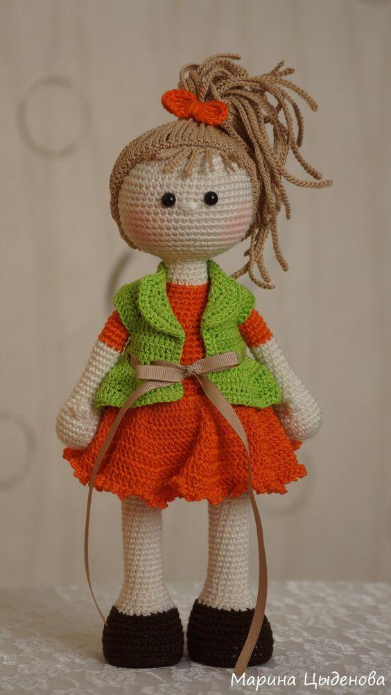 Marina Tsydenova | VK | crochet | Pinterest | Muñecas, Ángeles de ...