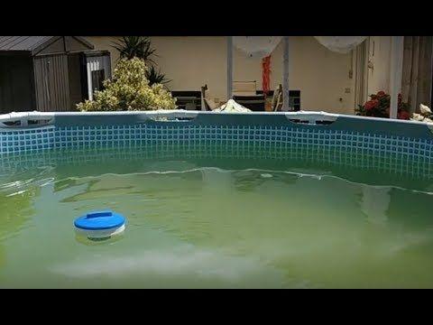 Grünes Wasser im Intex Pool mit Vitamin C klären YouTube