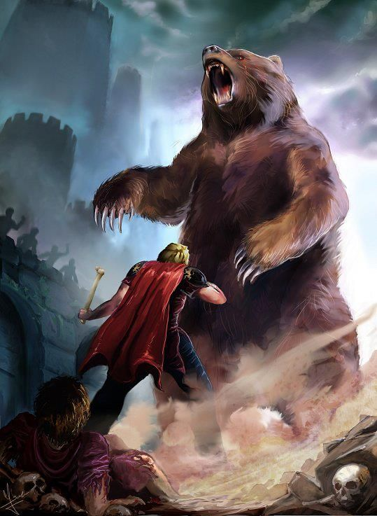 Jaime, Brienne & The Bear