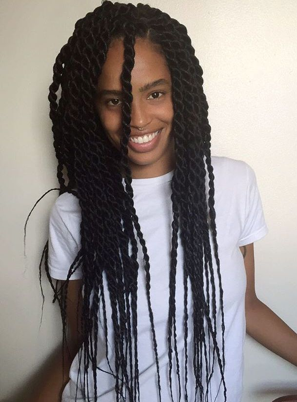 50 Thrilling Twist Braid Styles To Try This Season Twist Braid Styles Senegalese Twist Hairstyles Braids For Thin Hair