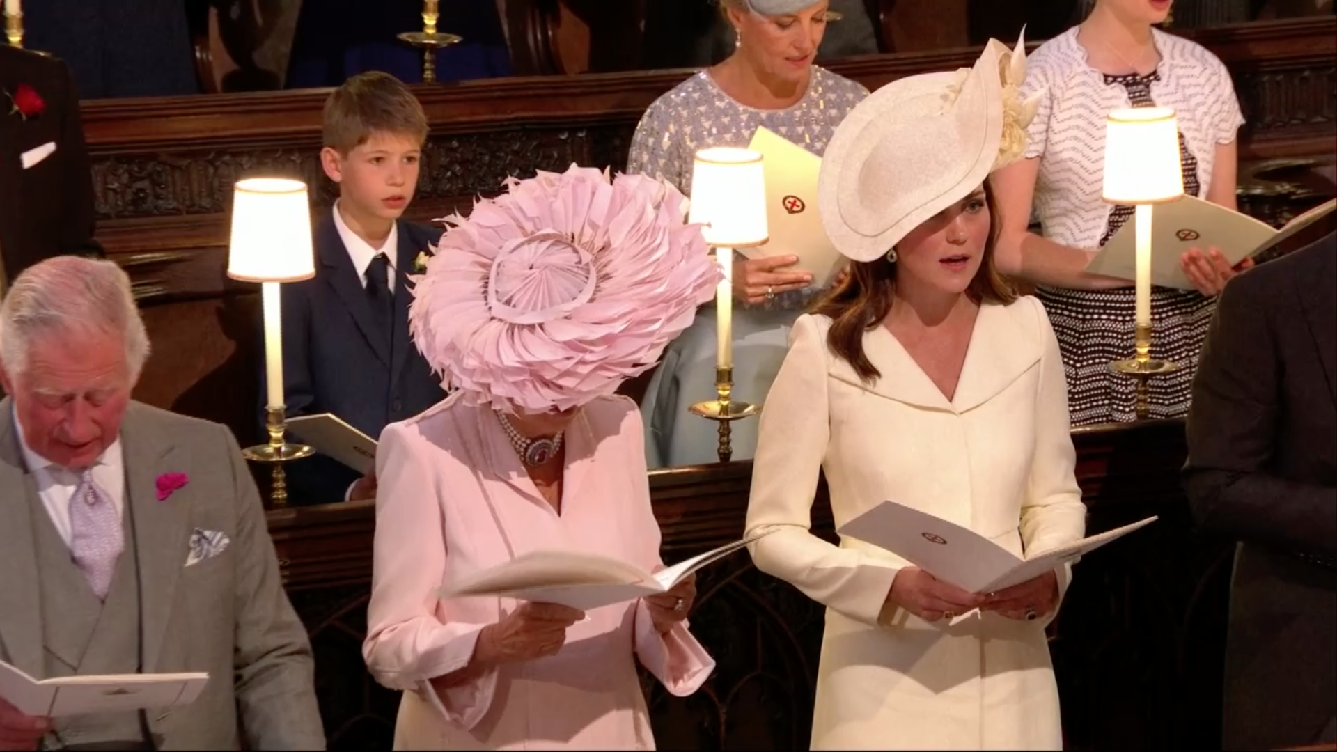 Kate Middleton Arrives at the Royal Wedding Less Than a Month After ...