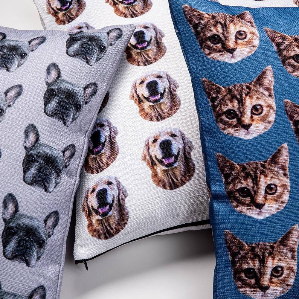 Custom Pet Pillow Cover Twill Custom pet pillow