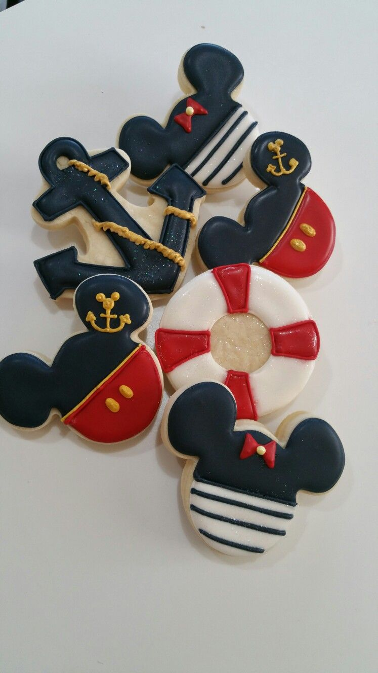 Kara's Party Ideas Nautical Mickey Mouse Party {Planning ...