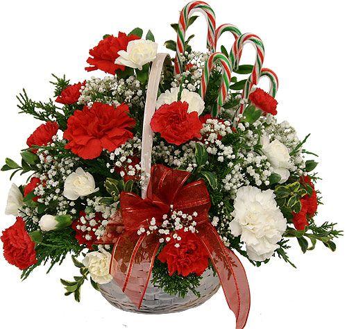 Christmas flower arrangements arrangments