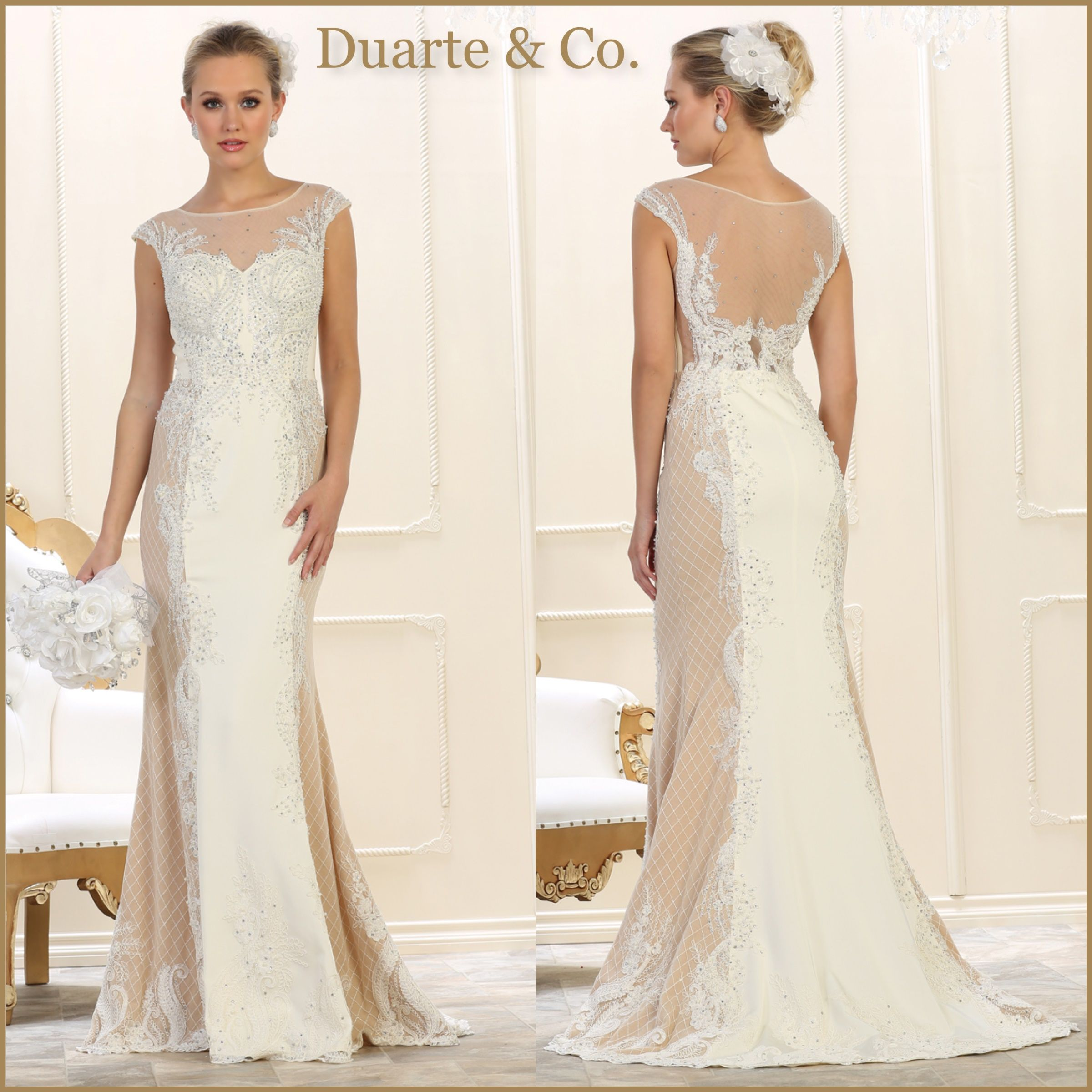 RQ7626B $309.00 Beaded Bridal Gown Available in sizes 4 to size 16 ...