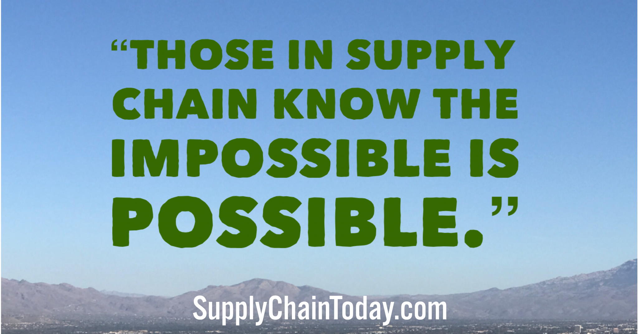 Supply Chain Quotes The Importance Of Supply Chain In The C Suite Supply Chain Chain Management What Is Supply Chain
