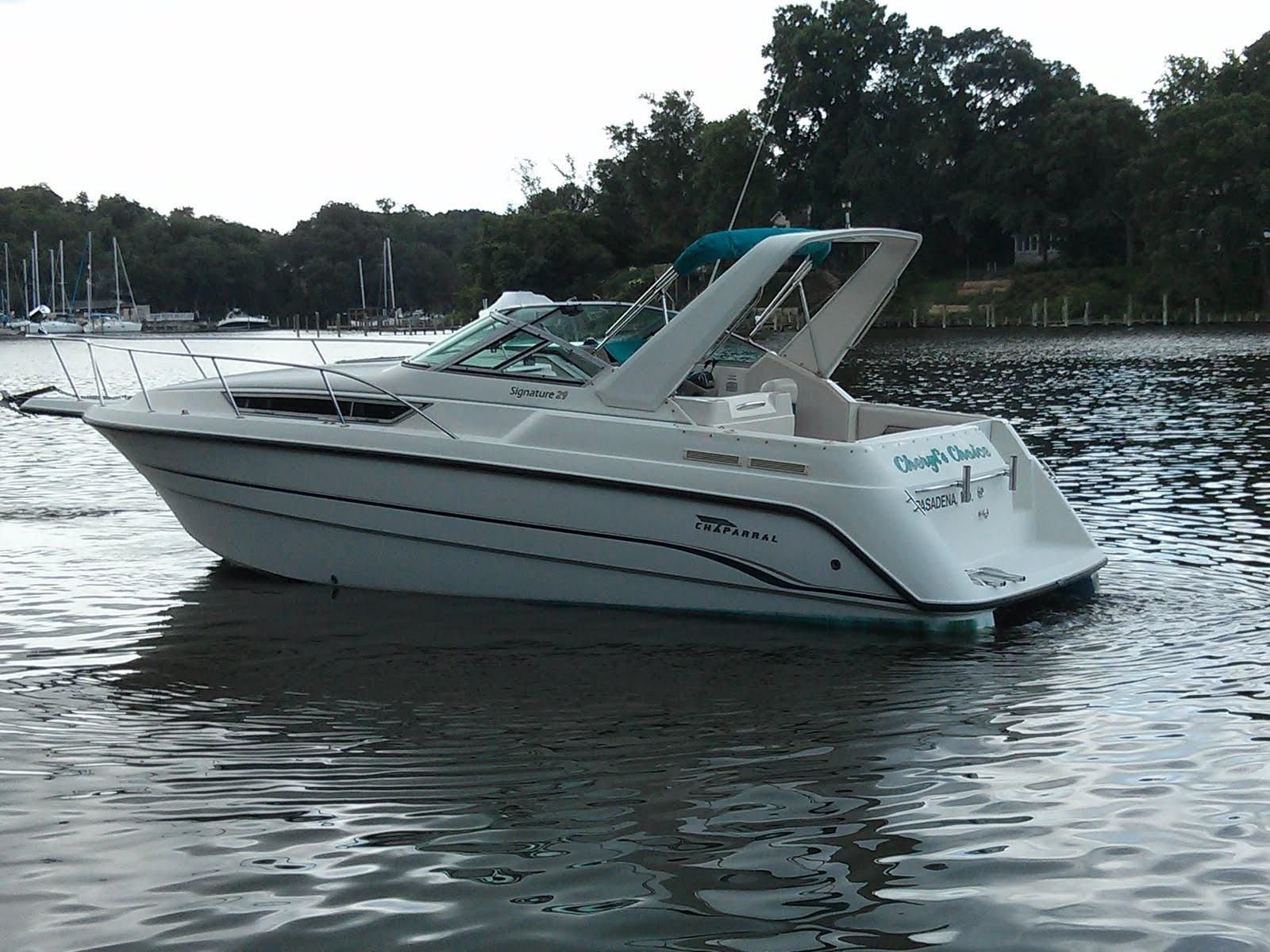 1995 Chaparral 290 Signature   Shady side, Used boats ...