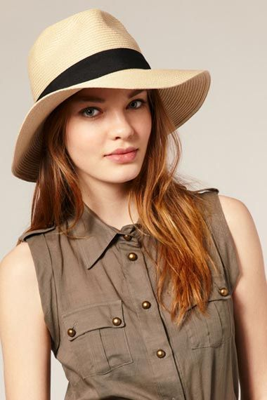 eef843bb5ed Wide brim   actual shade for your face. Women Wearing Fedora Hats