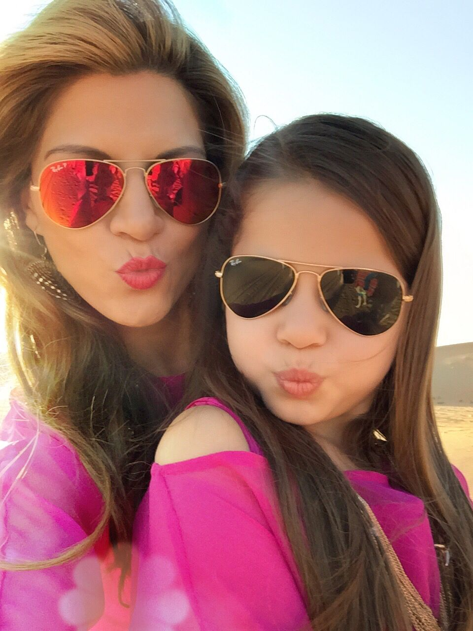f7e8a4dc57 Mother Daughter Matching sunglasses