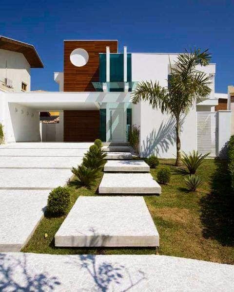 30 fachadas de casas modernas dos sonhos fachada casa for 30 fachadas de casas modernas dos sonhos