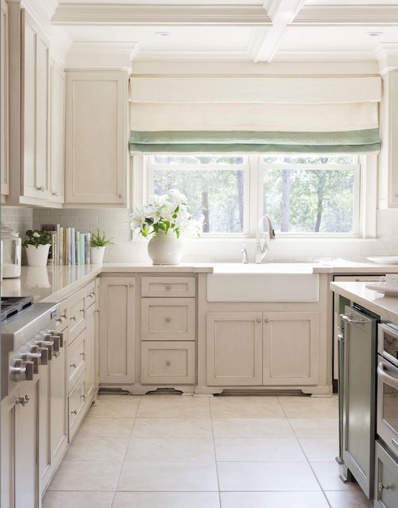 Suzie Tobi Fairley Fantastic Kitchen Design With Ivory Off White Shaker Cabinets