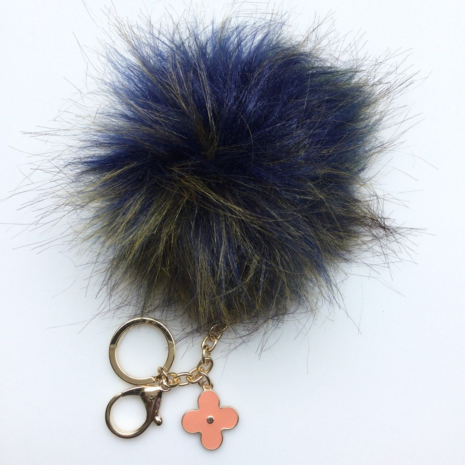 New Faux Fur #pompoms available now in our store @yogastudio55 on #etsy #furpompomkeychain #fauxfurpompom #fauxfur
