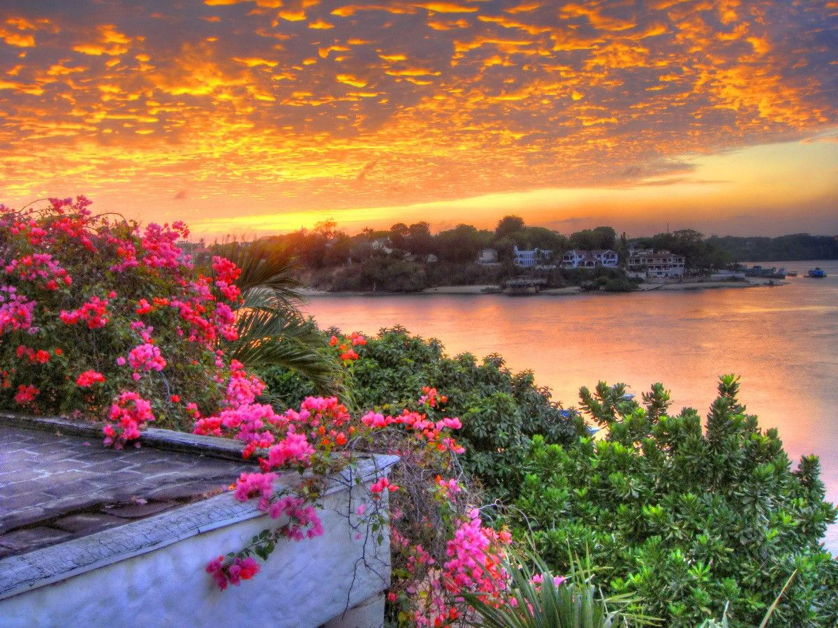 16 Luxury Pubg Wallpaper Iphone 6: Sunrise Village Beautiful Pretty Clouds